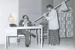 Dr M R Patel Performing in Drama
