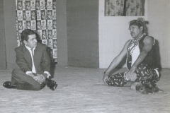 Dr M R Patel Performing in Drama as a Madari