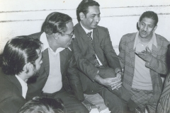 Dr M R Patel During Youth Festival with Professors