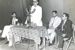 Dr M R Patel in Youth Festival with Umashankar Joshi