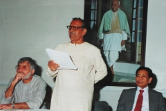 Dr M R Patel Giving Speech at Gandhi Foundation U.K